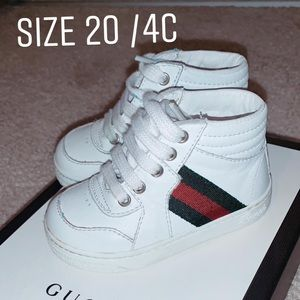 Gucci toddler shoe